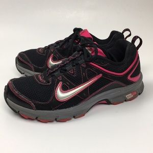 Nike Air-Alvord 9 Black And Pink Gym Shoe